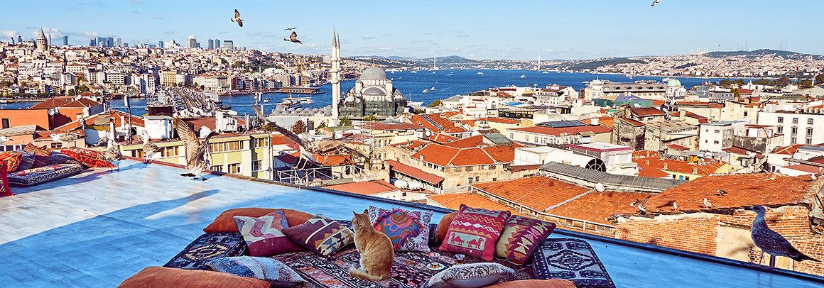 Mapa Istanbul Turecko Ck Blue Style